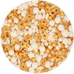 Zuckerperlen Medley Gold 180g