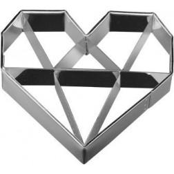 Ausstechform Herz Diamant 6,5cm