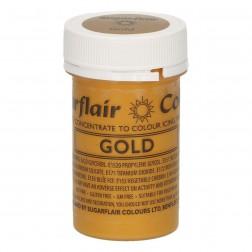 Essbare Lebensmittel Farbe Satin Gold 25g