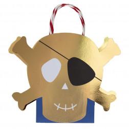Tasche Toten Kopf 8 Stück
