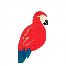 Piraten Parrot Servietten 16 Stück