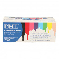 PME Paste colours 8er Set