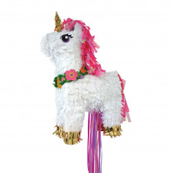 Pull Pinata Magical Unicorn