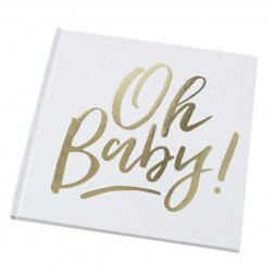 Gästebuch Oh Baby! 32 Seiten