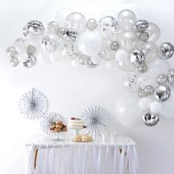 Ballon Arch Kit silber