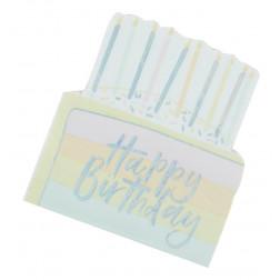 Servietten Birthday Cake 16 Stück