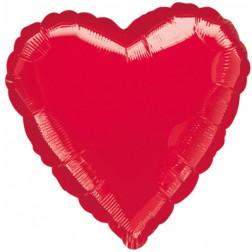 Folienballon Jumbo Herz rot 90cm