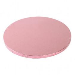 Tortenunterlage rund rosa 25cm