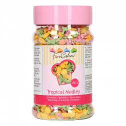 Zuckerdekor Sprinkle Medley Tropical 180g
