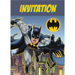 Batman Einladungskarten 8 Stück