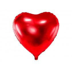 Folienballon Herz rot 61cm