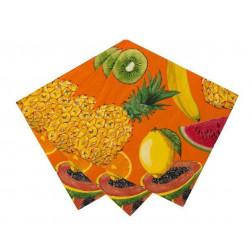 Servietten Tropical Fiesta Fruity 20 Stück