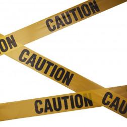 Caution Tape Banner 10m