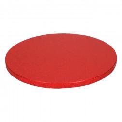 Tortenplatte rund Rot 30cm