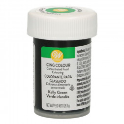 Wilton Icing Color Kelly Green 28g