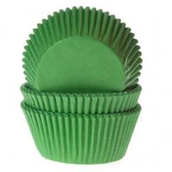 Cupcake Backform grün 50 Stück