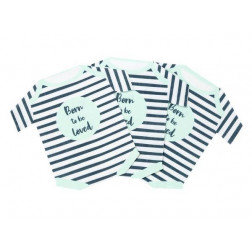 Servietten Born To Be Loved Babygrow 16 Stück