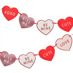 Love Heart Bunting Garland 2m