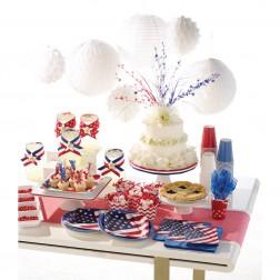 Partybox für 8 Gäste Amerika Party