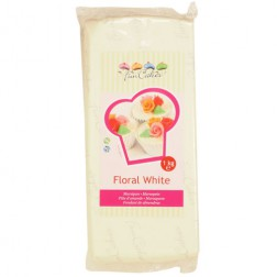 FunCakes Mandelhaltige Zuckermasse Floral White 1 kg